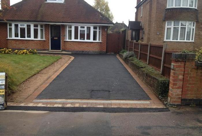 driveway for bungalow